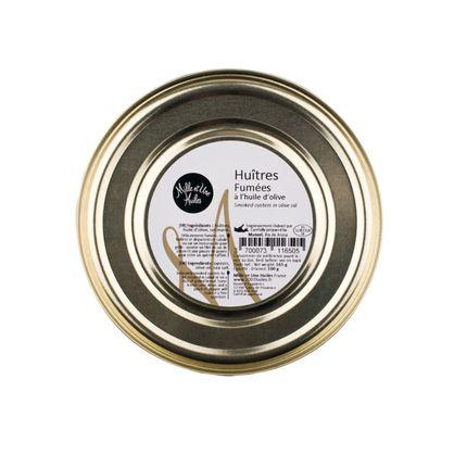 Épicerie fine - Huîtres fumées à l'huile d'olive - MILLE ET UNE HUILES
