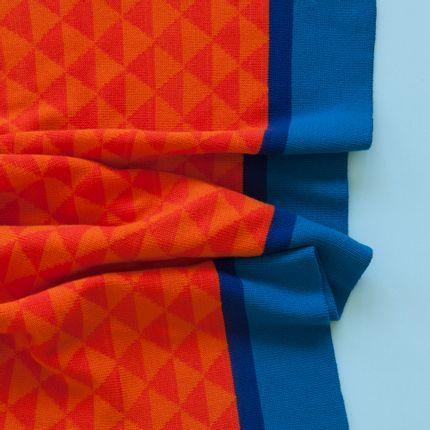 Chambres d'enfants - Couverture enfant tricotée - ANNA 100% MERINO KNITS
