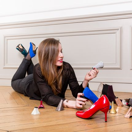 Shoes - shoes with interchangeable heels - ALEGORY PARIS