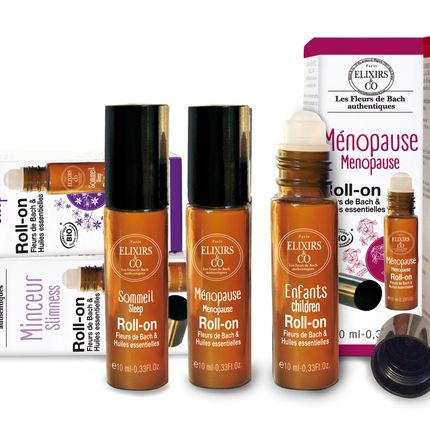 Beauty products - Roll-on with Bach flowers & essential oils - ELIXIRS & CO - LES FLEURS DE BACH