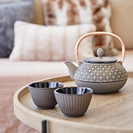 Tea / coffee accessories - THEIERE FONTE  - SEMA