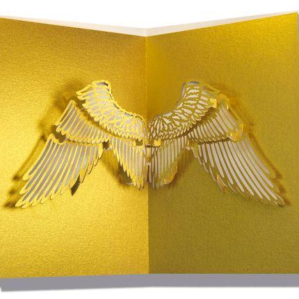 Stationery / Card shop / Writing - Pop-up christmas cards - RIFLETTO FILIGRANES AUS PAPIER