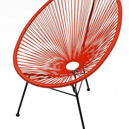 Lawn armchairs - ACAPULCO ARMCHAIR - LA CHAISE LONGUE