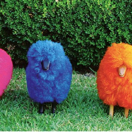 Decorative objects - colored sheep - TULINE