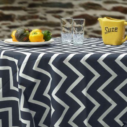 Linge de table - Nappe ronde et ovale - FLEUR DE SOLEIL