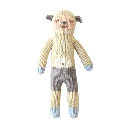 Soft toy - Wooly Rattle - BLABLA