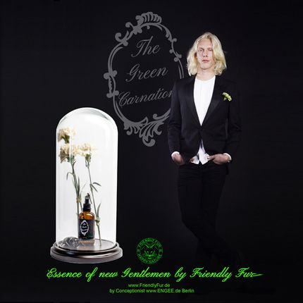 Fragrance for women & men - The Green Carnation  - FRIENDLY FUR BERLIN