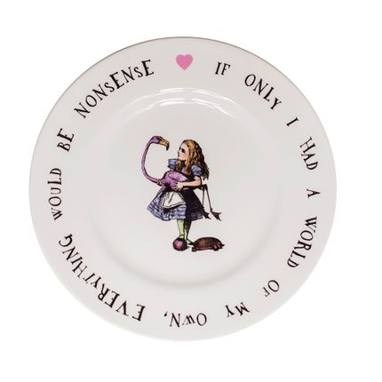 Formal plates - Alice in Wonderland - MRS MOORE'S VINTAGE STORE