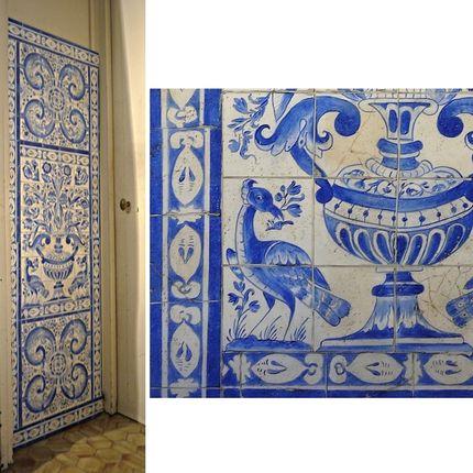 Décoration murale - Imitation de céramique - ATELIER  ATHENAIS DECORS PEINTS