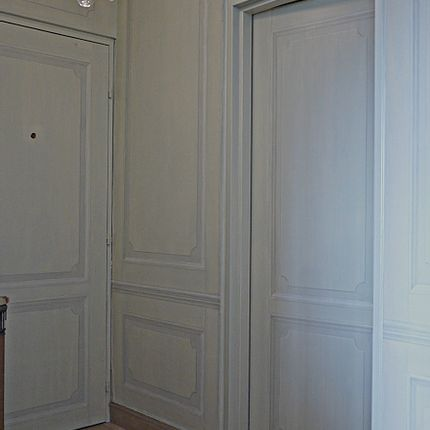 Wall decoration - Boiserie en trompe-l'oeil - ATELIER  ATHENAIS DECORS PEINTS