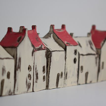 Decorative objects - Decorative ceramic house - BÉRANGÈRE CÉRAMIQUES