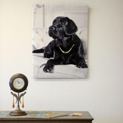 Design - Tapestry Black Labrador Retriever - NEO TAPIS