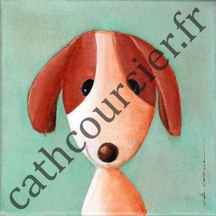 Paintings - Florette - CATH COURCIER