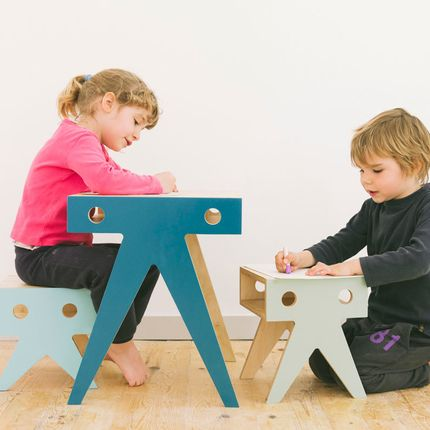 Tables and chairs for children - THE WALRUS FAMILY - NIMIO