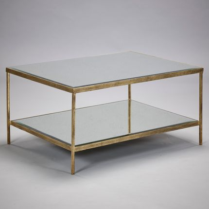 Tables basses - Victor Coffee Table in Or - ROBERT LANGFORD