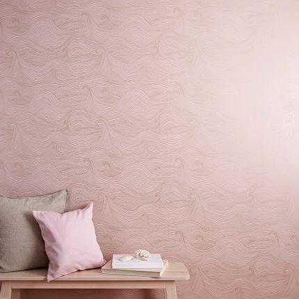 Décoration murale - Seascape wallpaper at Sunrise - ABIGAIL EDWARDS LTD