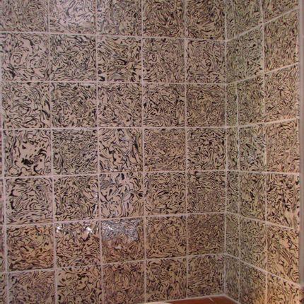 Fayence tiles - Tiles - PASCALE MESTRE TERES MELEES