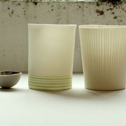 Céramique - Vessels and bowl - JUSTINE ALLISON