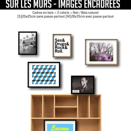 Wall decoration - SUR LES MURS framed pictures - CASA ALBERT