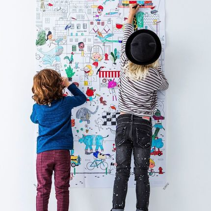Loisirs créatifs - Giant colouring picture - MAKII