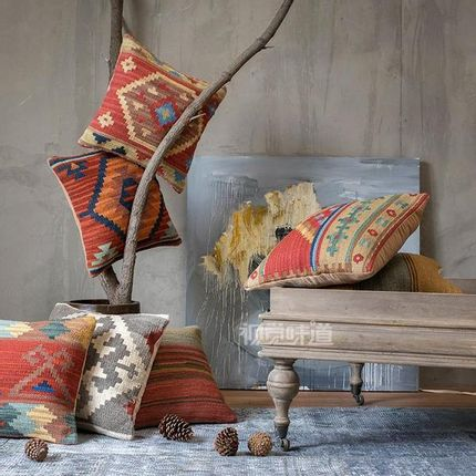 Design - kilim cushion cover - MISS CUCCI HANDMAND RUG&KILIMS