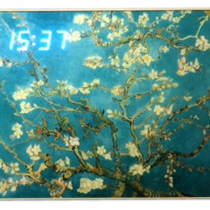 Wall decoration - LED Clock - RP KOREA (HANKUK ART CHAIN CO., LTD.)