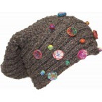 Chapeaux - bonnet en laine fait main - JYAPU