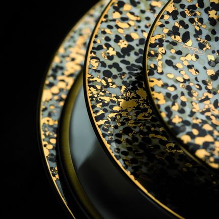 Formal plates - CAMOUFLAGE  - ROBERTO CAVALLI HOME LUXURY TABLEWARE