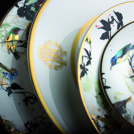 Formal plates - GARDEN'S BIRDS - ROBERTO CAVALLI HOME LUXURY TABLEWARE