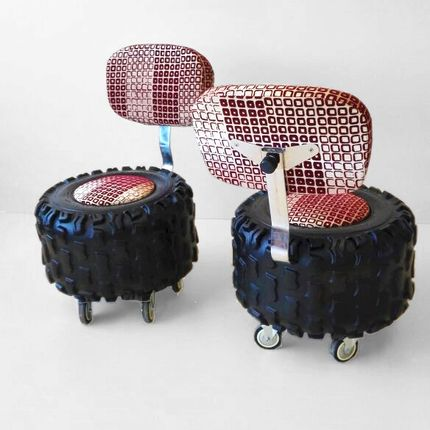 Objets design - OFF ROAD RIDER SEATS - BERNARD COLL DESIGN