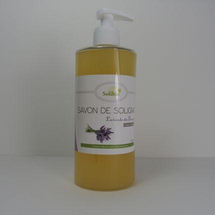 Savons - Savon de Solignac Lavande 500ml - SOLIBIO