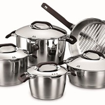 Casseroles - ESTA Cookware Set (9pcs) - KORKMAZ