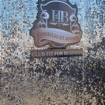 Wall coverings - Silver Sequin Display - SHIMMERWALLS
