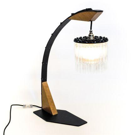 Desk lamps - C_WTL_90 - CREPUSCULE - STEELWOODANDGLASS