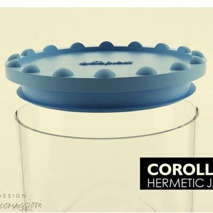 Small household appliances - COROLLA HERMETIC JARS - POS PICCOLI OGGETTI SPECIALI - POS DESIGN
