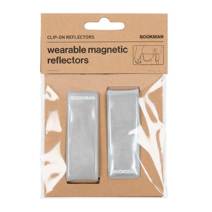 Gift -  Clip-on reflector - BOOKMAN URBAN VISIBILITY