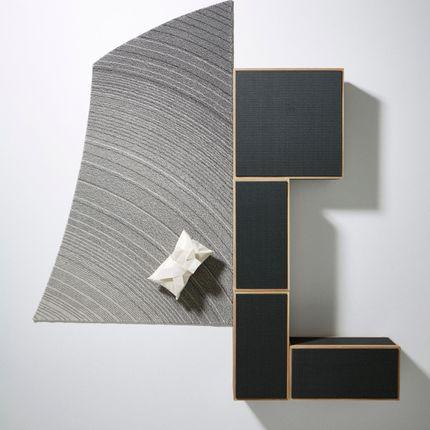 Design - 然 zen / three-dimensional rug - KATSUKI CONNECTION