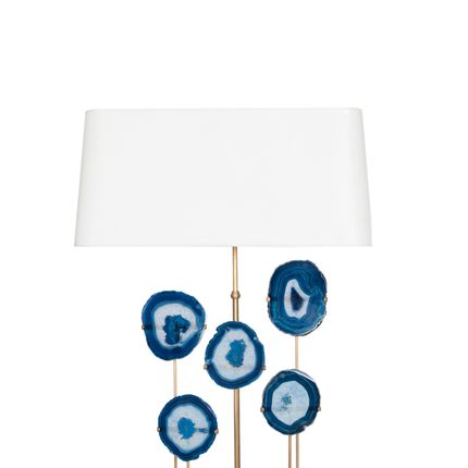 Table lamps - table Lamp RIO-05BLU - ISABELLE BIZARD