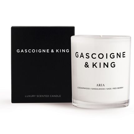 Candles - Aria Soy Wax Candle - GASCOIGNE & KING