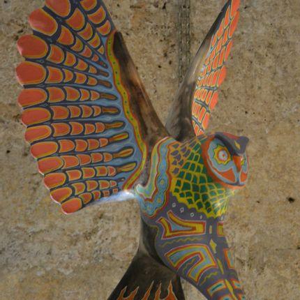 Sculpture - Hibou - ERIC ZAMBEAUX