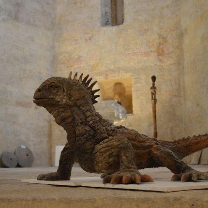Sculpture - Iguane - ERIC ZAMBEAUX
