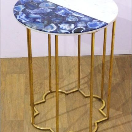 Tables - Agate + Marble STAR - LUXURIOUS ARTS