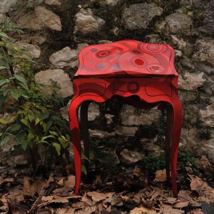 Unique pieces - Secrétaire rouge - PROMISE NUMBER 1