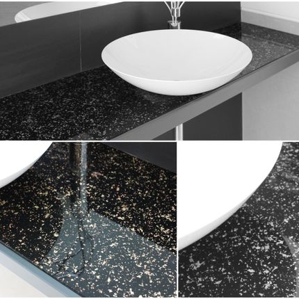 Installation accessories - Laminated Glass with digital printing of high resolution  for bathroom - WIDINGLASS by Biselarte
