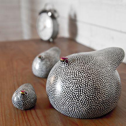 Ceramic - Guinea Fowls - DANA ESTELINE