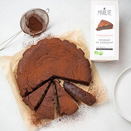Delicatessen - Organic chocolate fondant baking mix  - MARLETTE