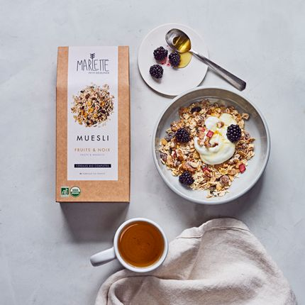 Delicatessen - Organic walnuts & fruits muesli - MARLETTE