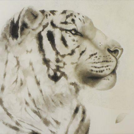Paintings - TIGER - KUNI PAINTING/CERAMICS KAIZAN