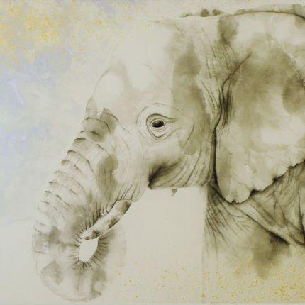 Decorative objects - ELEPHANT - KUNI PAINTING/CERAMICS KAIZAN