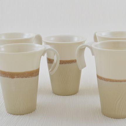 Mugs - Tea cup Marron Glacé - OZECLORE